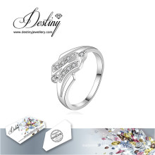 Destiny Jewellery Crystal From Swarovski Ring H Ring