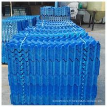 Remplissage de tour de refroidissement d'onde de nid d'abeilles de PVC pp pour l'eau de refroidissement