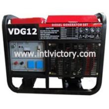 Открытый дизельный генератор мощностью 11 кВт