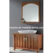 Твердой древесины шкафа ванной комнаты (БА-1131)