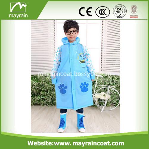 Pvc Children Rainsuit