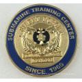 Pièce de métal plaqué argent antique avec logo gravé (GZHY-JZ-083)