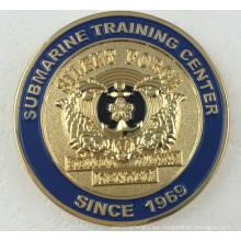 Die Casting Metal Badge, moneda personalizada para la colección (GZHY-CY-005)