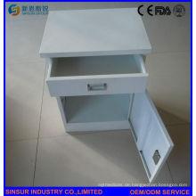 Krankenhaus Nachttisch Edelstahl Bedside Cabinet
