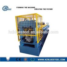 Machine de formage à rouleaux en caoutchouc en acier chromé Construction Fabricant