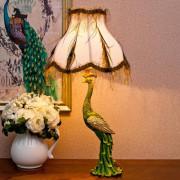 Clássico de cristal resina luz decorativa