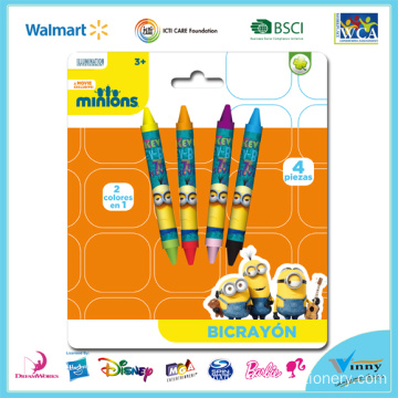 Minions 4 Piece Double Tip Crayon