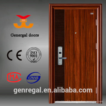 Luxury wood Matt grain super strong steel security door