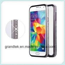 Идеальный Алюминиевый металл Чехол bumper кадров для Samsung S5 в i9600