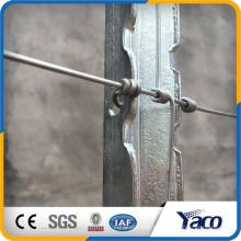 Fabricante de Yachao EE. UU. Tipo Steel T post