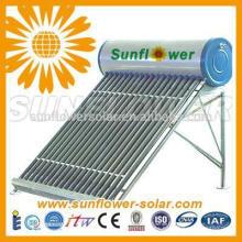 Calentador solar de agua caliente a presión con bobina de cobre para uso doméstico