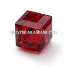 Flat square beads