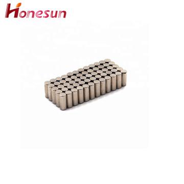 Nickel Plating Cylinder N52 Ndfeb Magnet