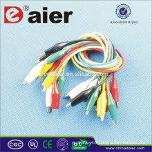 Daier colcourful alligator clip 55mm with plastic