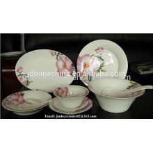 Cerámica gres porcelana melamina ceramic dinnerware set