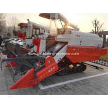 Customized for China Self-Propelled Rice Harvester,Rice Combine Harvester,Crawler Type Rice Combine Harvester Manufacturer white color brand new model of rice harvester supply to Zimbabwe Factories