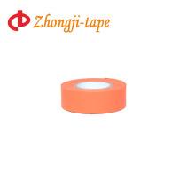 bright orange flagging tape