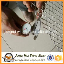 High quality standard expanded wire mesh stretched aluminum expanded metal mesh