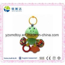Lovely Green Frog Printing Bunte Süßigkeiten Teether Spielzeug