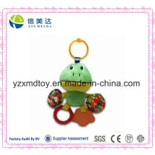 Lovely Green Frog Printing Colorful Candy Teether Toy