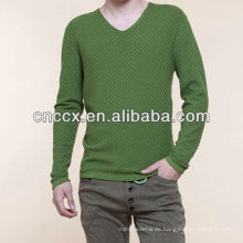 13STC5575 neuesten design mode V-ausschnitt europäischen stil pullover für männer