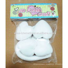 party festive supplies Decorations wholesale Heart-shaped Styrofoam