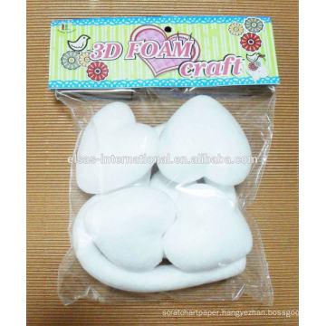 party festive supplies Decorations wholesale Heart-shaped Styrofoam