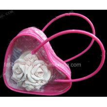 Transparent PVC Gift Bag for Cosmetic Bag