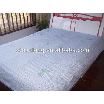 100% algodão 40 * 40 110 * 90 tecido branco china lençol tecido