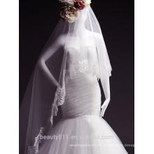 2017 falda llena TS149 del vestido de boda sin tirantes encantador del cordón del estilo de la alta calidad