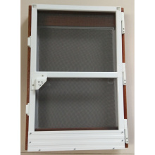 Cheap for Frame Bottom Hinged Windows Aluminum frame insect screen door supply to Mali Importers