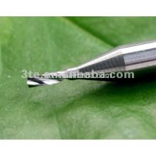 Tungsten Carbide 1 flauta final moinho