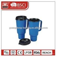 En gros Portable bon marché en plein air sport boire 750ml Pe bouteille d'eau plastique Bpa libre