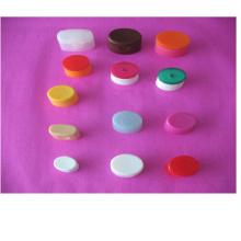 Oval plástico Flip Caps para tubos