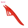 Stainless Steel Extra Wide Grip Slanted Eyebrow Tweezers