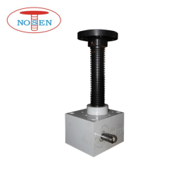Lifting Elevating Pushing Pulling Equipment Motorized Screw Jack for Mini Project