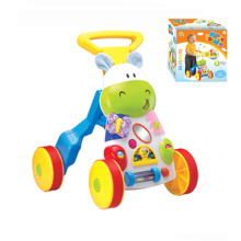 Ce Approval Baby Musical Walker with Light and Music (H9327001)