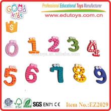 Número de juguetes de aprendizaje número de madera juego niños juguetes número magnético