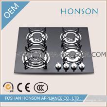 Las placas de cocina de gas templado de vidrio templado más nuevas