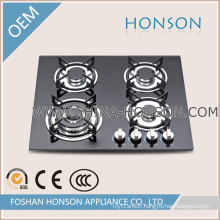Newest Build-in Tempered Glass Gas Hobs