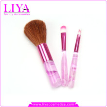 Cheap professional 3pcs makeup brush set