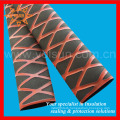Red & Black Skidproof Heat Shrink Tubing for Handles/ Rods Protecting