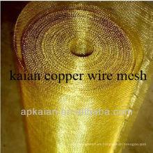 Anping 33gauge tela de cobre de alambre