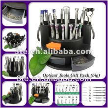 Paquete de regalo de las herramientas ópticas vendedoras calientes