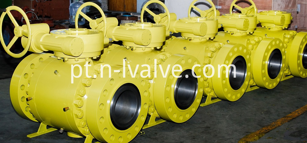Trunnion Ball Valve