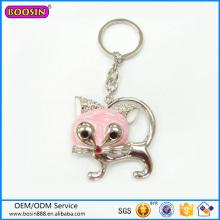 Großhandel Schöne Kitty Charm Schlüsselbund Modische Schlüsselbund # 15460