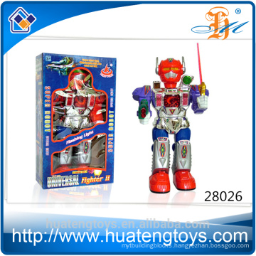 Hot Sell ABS talking Battery Operated plastic robot models