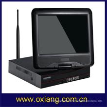 Câmera de segurança em casa dvr com tela de LCD WIFI NVR KIT câmera de vigilância
