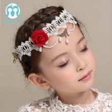 Großhandelskinderband-Mädchen-Hochzeitsfest-Stirnband-Kinderhaar-Abnutzung für Dekoration
