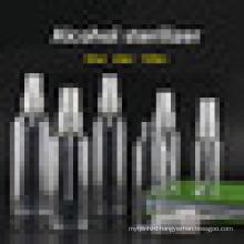 Empty Transparent 50ml 60ml 100ml Liquid Dispensing Plastic Spray Bottle